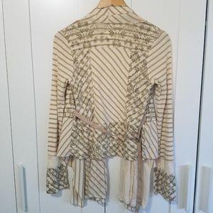 Anthropologie Sweaters - Anthropologie Tiny City Gardens Patchwork Cardigan